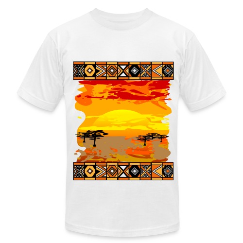 Back to Africa Tee - Men's Fine Jersey T-Shirt