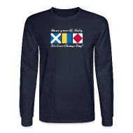 Long Sleeve Shirts ~ Men's Long Sleeve T-Shirt ~ Crew Change Day -- Long-sleeve tee