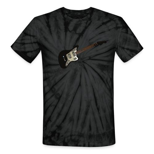 Jaguar Guitar T-Shirt - Tie Dye - Unisex Tie Dye T-Shirt