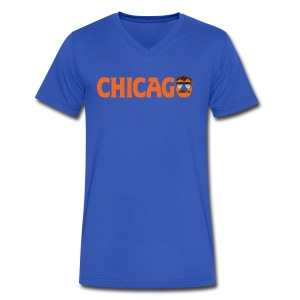 Chicago Ol' Coach - Men's V-Neck T-Shirt by Canvas
