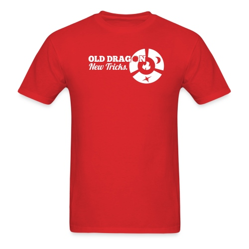 Zwit'Tig - Old Dragon - Men's T-Shirt