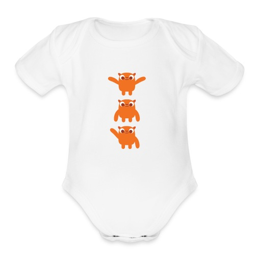 Baby's Gorbie One Piece - Organic Short Sleeve Baby Bodysuit