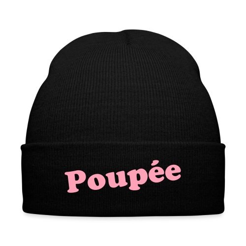 French Doll - Knit Cap with Cuff Print