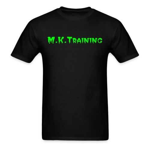 M.K.Training Basic T-Shirt (Black) - Men's T-Shirt