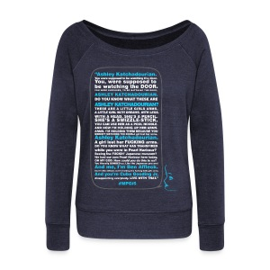 Speech - Women's Wideneck Sweatshirt