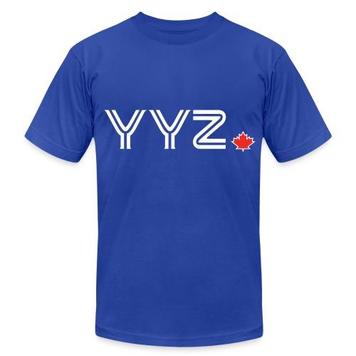 YYZ Leaf Tee - Men's Fine Jersey T-Shirt