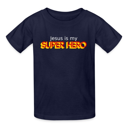 Jesus is my super hero - Kids Tee - Kids' T-Shirt