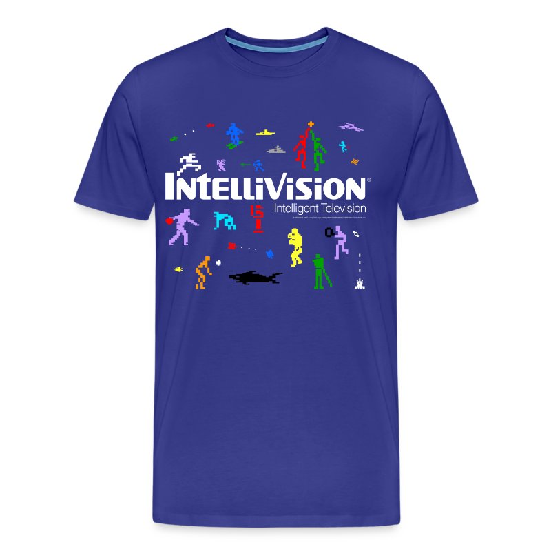 Intellivision – premium shirt - Men's Premium T-Shirt