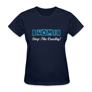 Blue For Our Men In Blue - Official Campaign Tee - Women's T-Shirt