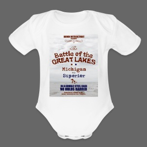 Battle of the Great Lakes - Short Sleeve Baby Bodysuit
