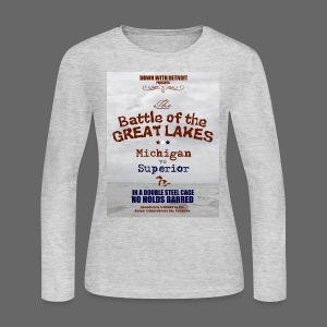 Battle of the Great Lakes - Women's Long Sleeve Jersey T-Shirt