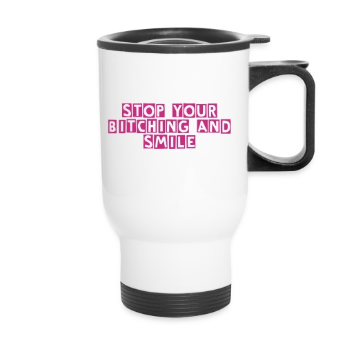 Smile More Travel Mug - Travel Mug