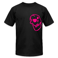 T-Shirts ~ Men's T-Shirt by American Apparel ~ Nothing Skull