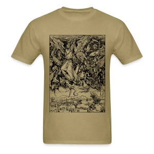 St. Michael & the Dragon - Men's T-Shirt
