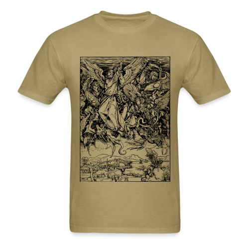 St. Michael & the Dragon - Men's T-Shirt
