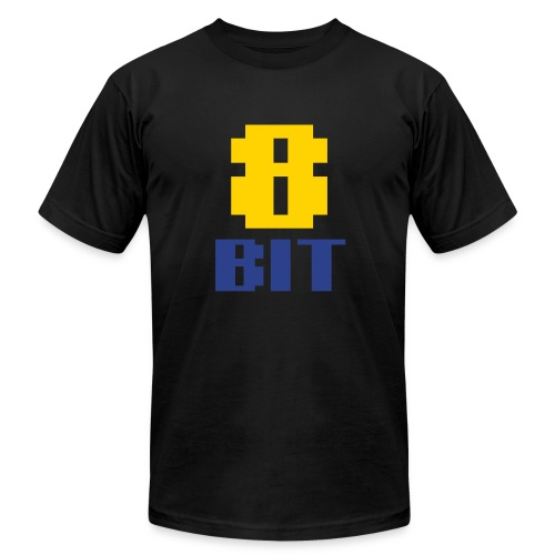 8BIT - Men's T-Shirt by American Apparel