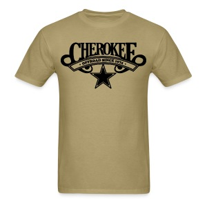 Cherokee Offroad Since 1974 - Black logo - Men's T-Shirt