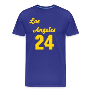 Kobe # 24 Throwback style - Men's Premium T-Shirt