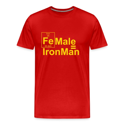 FEmale is IronMan - Men's Premium T-Shirt