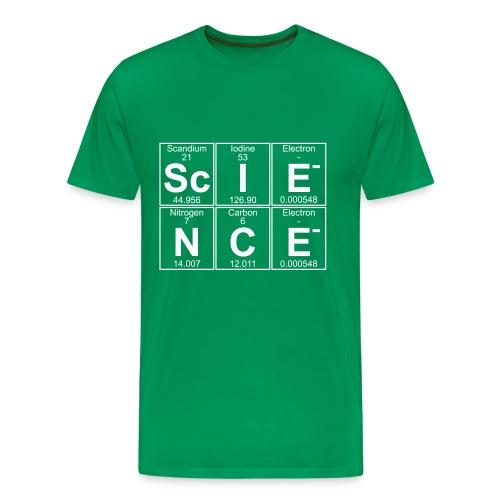 Sc-I-E-N-C-E (science)