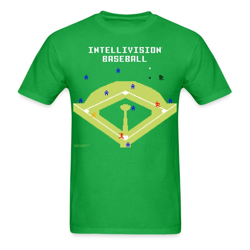 Intellivision Baseball standard shirt - Men's T-Shirt