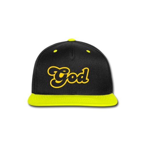 GOD CAP - Snap-back Baseball Cap