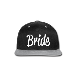 BRIDE CAP - Snap-back Baseball Cap