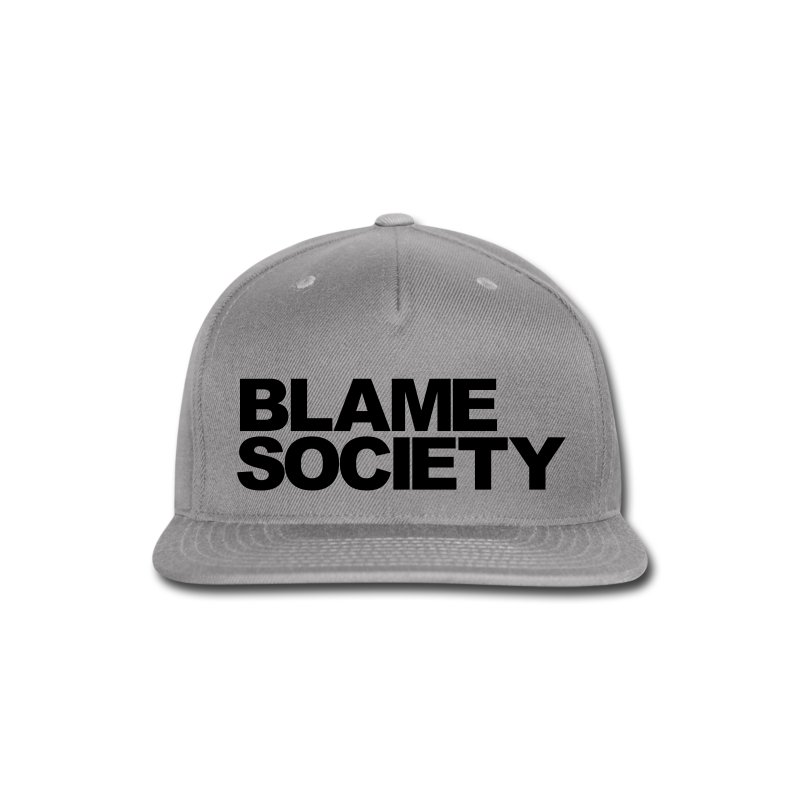 DON'T BLAME ME - Snap-back Baseball Cap