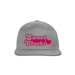 SWEET CHEEKS CAP - Snap-back Baseball Cap