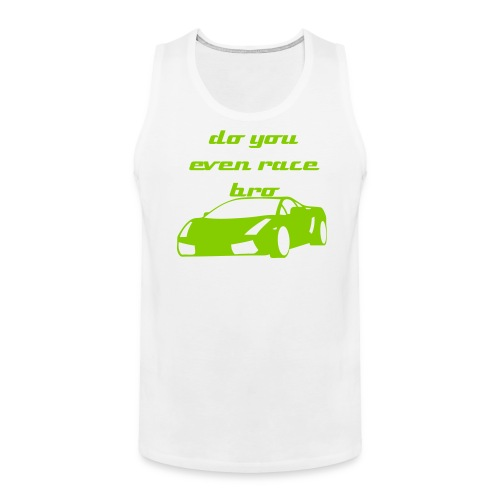 race bro - Men's Premium Tank