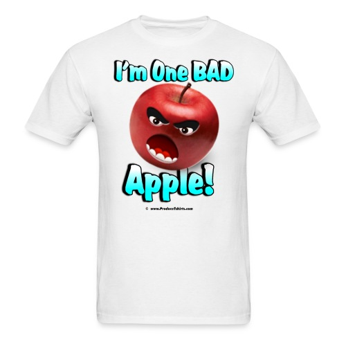 One Bad Apple (front) - Men's T-Shirt