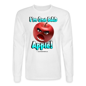 One Bad Apple (front) - Men's Long Sleeve T-Shirt