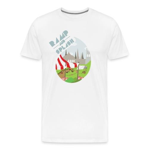 Ramp and Splash Men's T-Shirt - Men's Premium T-Shirt
