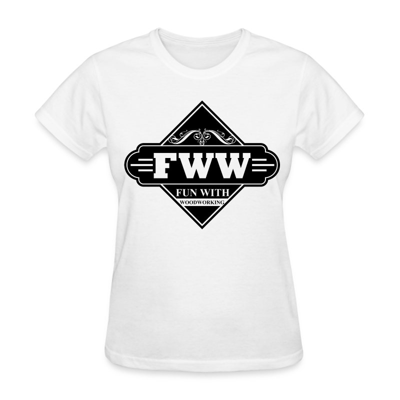 FWW Classic design with logo on front - Women's T-Shirt