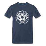 T-Shirts ~ Men's Premium T-Shirt ~ sunday funday soccer T-Shirts