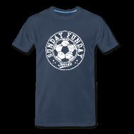 T-Shirts ~ Men's Premium T-Shirt ~ sunday funday soccer T-Shirts