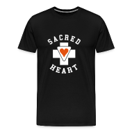 T-Shirts ~ Men's Premium T-Shirt ~ SACRED HEART