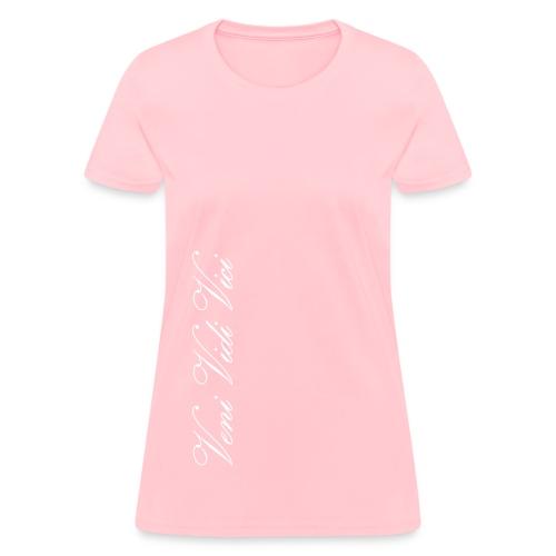 Ladies T-Shirt Veni Vidi Vici - Women's T-Shirt