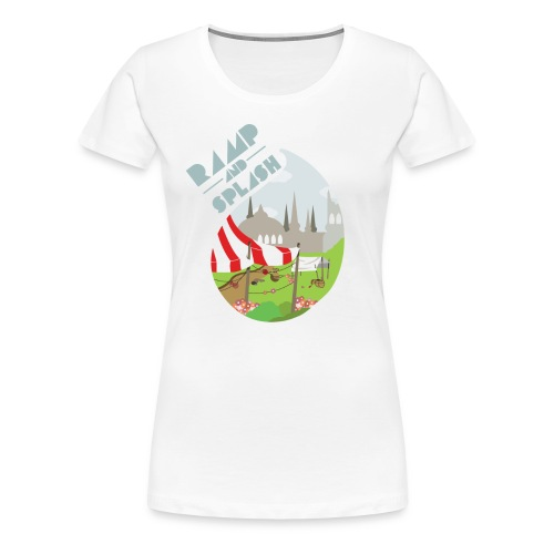 Ramp and Splash Women's T-Shirt - Women's Premium T-Shirt