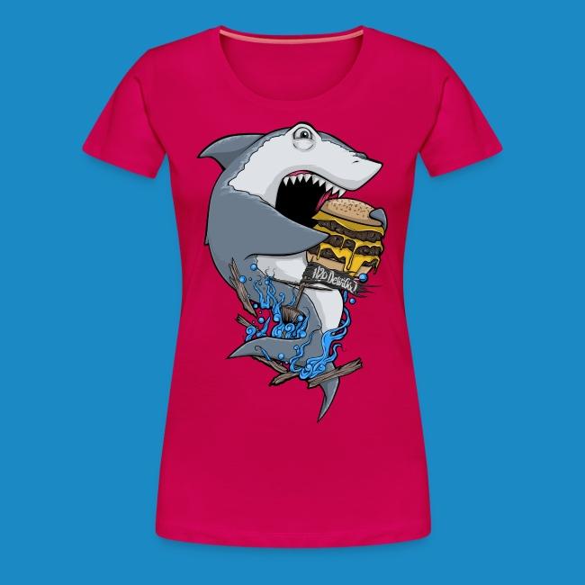 Hungry Shark Womens Premium