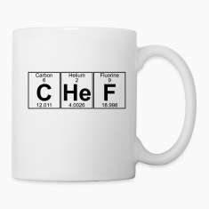 C-He-F (chef) Bottles & Mugs
