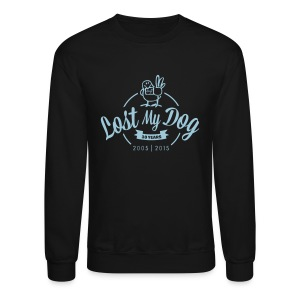 Men's Sweater - Blue 10 Year Logo - Crewneck Sweatshirt