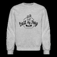 Long Sleeve Shirts ~ Crewneck Sweatshirt ~ Men's Sweater - Black 10 Year Logo