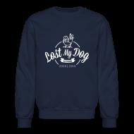 Long Sleeve Shirts ~ Crewneck Sweatshirt ~ Men's Sweater - White 10 Year Logo