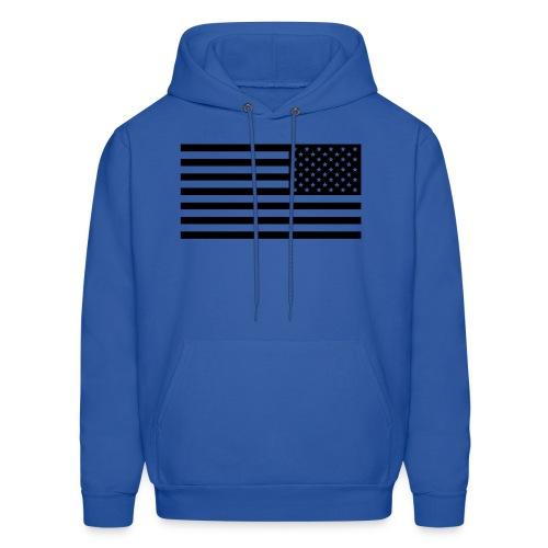 AMERIKA Black velvet Design - Men's Hoodie
