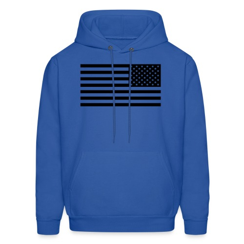 AMERIKA Black velvet Design - Men's Hoodie