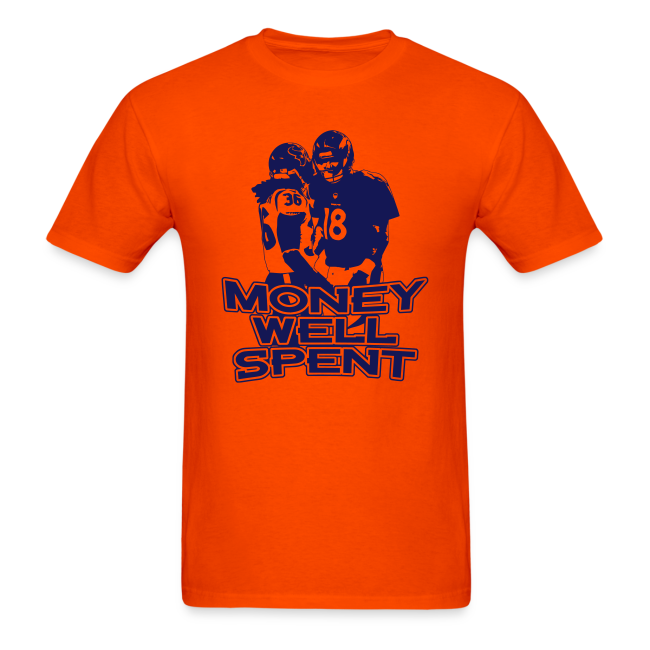 Money Well Spent - Mens T-shirt - Light Garment