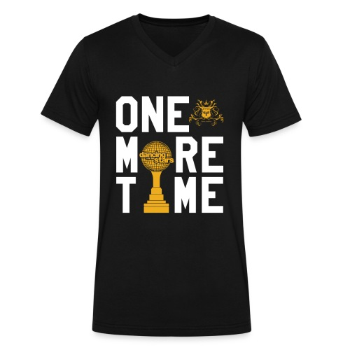 One More Time! - Men's V-Neck T-Shirt by Canvas