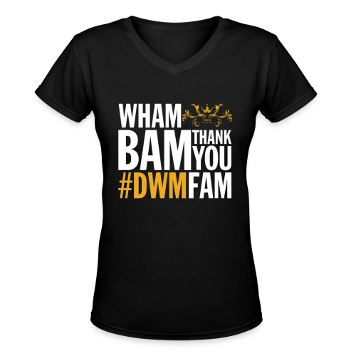 Thank You DWMFAM - Women's V-Neck T-Shirt