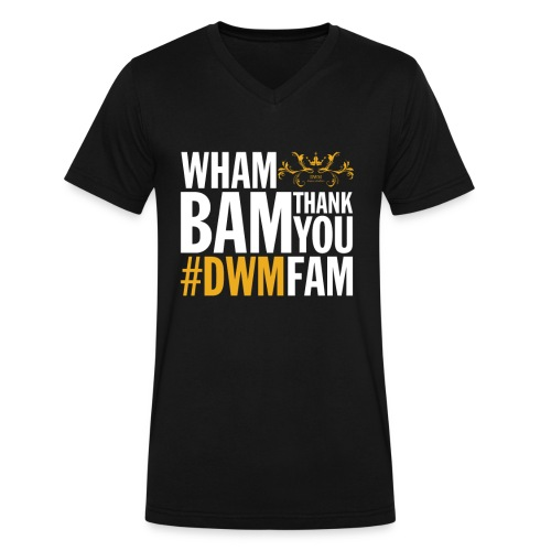Thank You DWMFAM - Men's V-Neck T-Shirt by Canvas